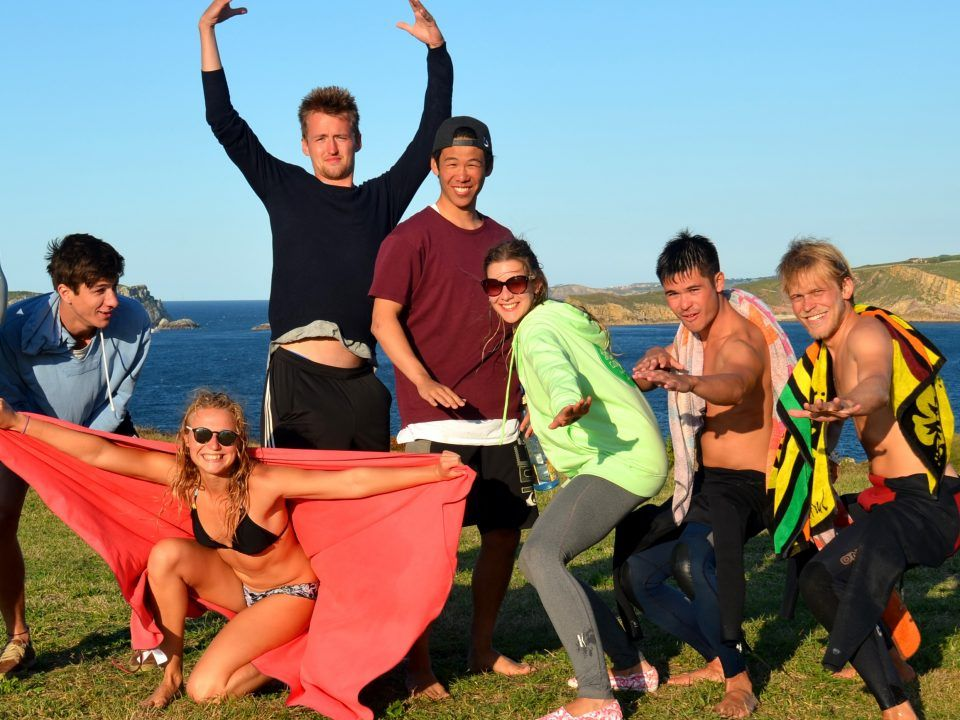 Surfcamp adultos en Suances
